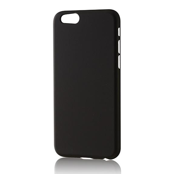 【iPhone6フィルム】パワーサポート エアージャケットセット ラバーブラック iPhone 6 ケース_0