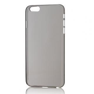 パワーサポート エアージャケットセット クリアブラックハードケース iPhone 6s Plus/6 Plus
