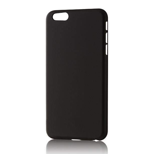 iPhone6s Plus/6 Plus フィルム パワーサポート エアージャケットセット ラバーブラックハードケース iPhone 6s Plus/6 Plus_0