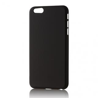 パワーサポート エアージャケットセット ラバーブラックハードケース iPhone 6s Plus/6 Plus