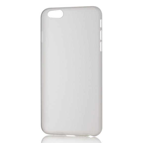 パワーサポート エアージャケットセット クリアマットハードケース iPhone 6s Plus/6 Plus