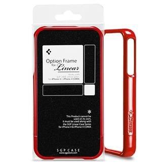 Spigen Linear Option Frame Series Dante Red