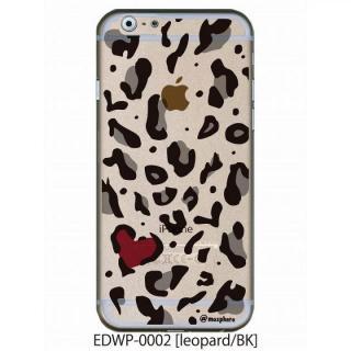 アトモスフィア クリアデザインケース レオパード ブラック iPhone 6ケース