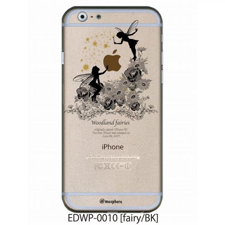 【iPhone6ケース】アトモスフィア クリアデザインケース フェアリー ブラック iPhone 6ケース_0