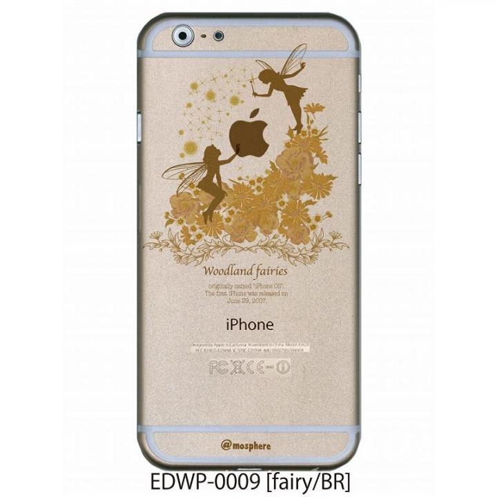 iPhone6 ケース アトモスフィア クリアデザインケース フェアリー ブラウン iPhone 6ケース_0