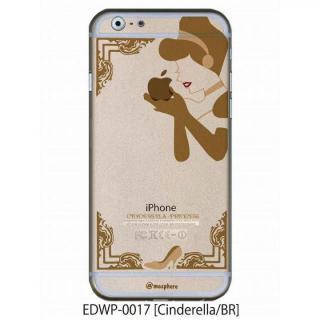 iPhone6 ケース アトモスフィア クリアデザインケース シンデレラ ブラウン iPhone 6ケース