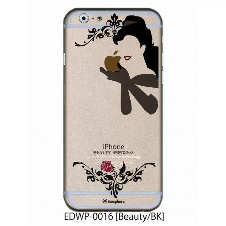 アトモスフィア クリアデザインケース ビューティー ブラック iPhone 6ケース
