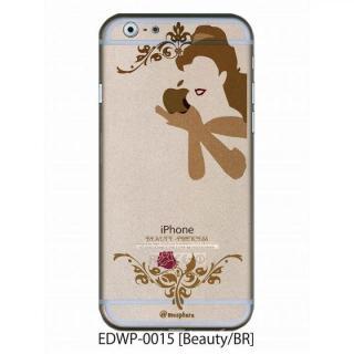 アトモスフィア クリアデザインケース ビューティー ブラウン iPhone 6ケース