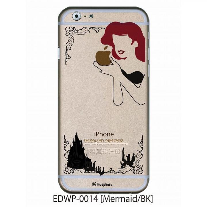 アトモスフィア クリアデザインケース マーメイド ブラック iPhone 6ケース