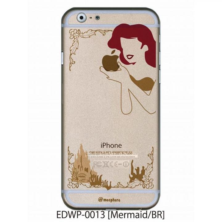 iPhone6 ケース アトモスフィア クリアデザインケース マーメイド ブラウン iPhone 6ケース_0