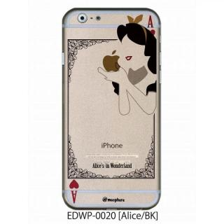 アトモスフィア クリアデザインケース アリス ブラック iPhone 6ケース