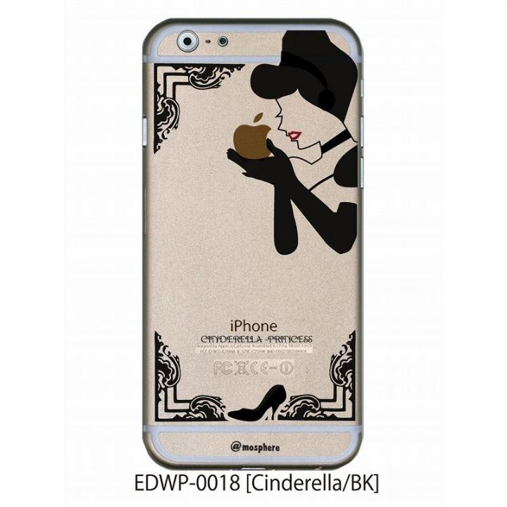 アトモスフィア クリアデザインケース シンデレラ ブラック iPhone 6ケース