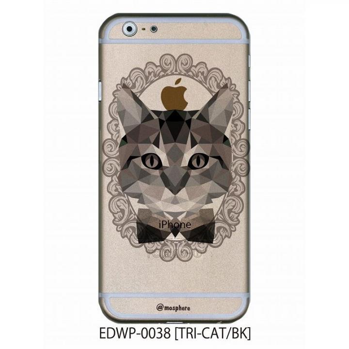 iPhone6 ケース アトモスフィア クリアデザインケース トライキャット ブラック iPhone 6ケース_0