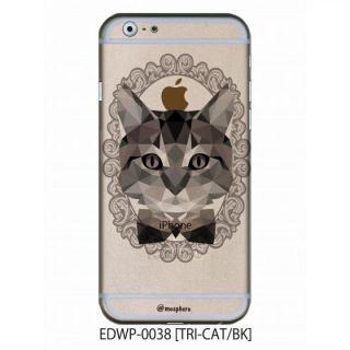 アトモスフィア クリアデザインケース トライキャット ブラック iPhone 6ケース