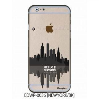 アトモスフィア クリアデザインケース ニューヨーク ブラック iPhone 6ケース