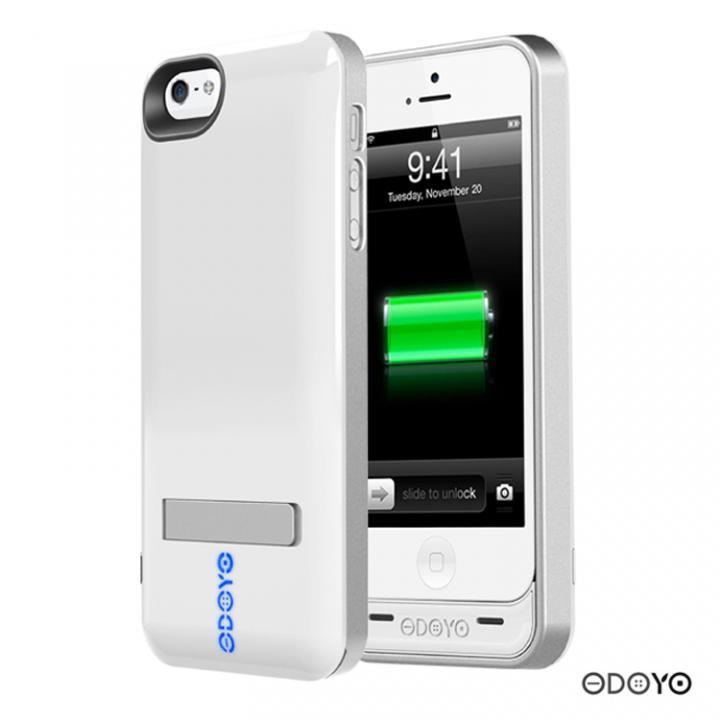 【iPhone SE/5s/5ケース】【2200mAh】ODOYO iPhone5ケース一体型バッテリ PURANUS_0