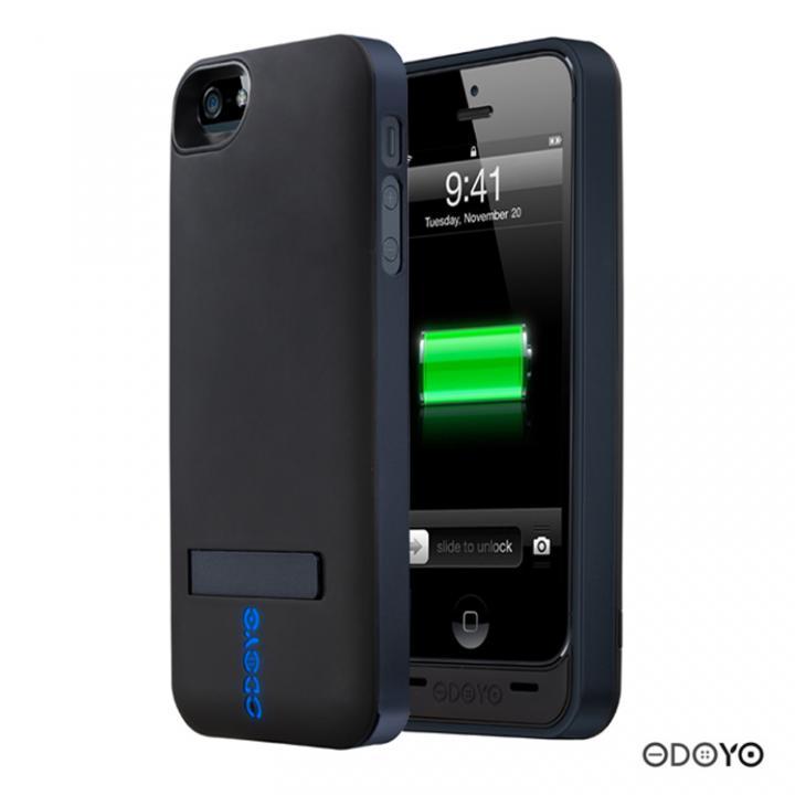 iPhone SE/5s/5 ケース 【2200mAh】ODOYO iPhone5ケース一体型バッテリ Power Shell EX / SATURN_0