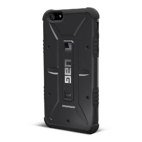 あらゆる方向の衝撃を緩和 UAG コンポジットケース ブラック iPhone 6 Plusケース