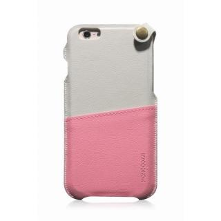 MONOCOZZI ソフトPUレザーポーチケース クリーム/ピンク iPhone 6 ケース