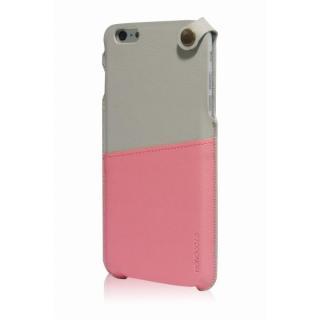 【iPhone6 Plusケース】MONOCOZZI ソフトPUレザーポーチケース クリーム/ピンク iPhone 6 Plusケース_1