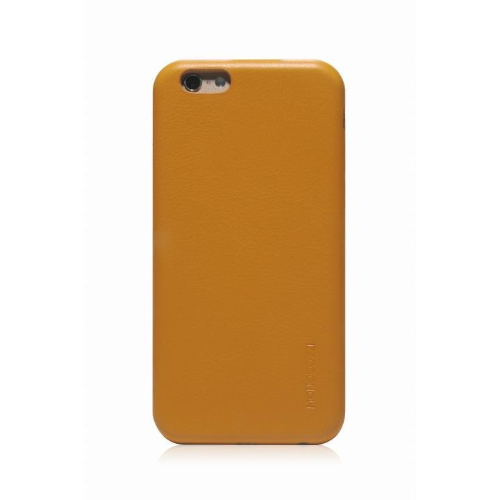 MONOCOZZI ソフトPUレザーシェルケース イエロー iPhone 6 ケース