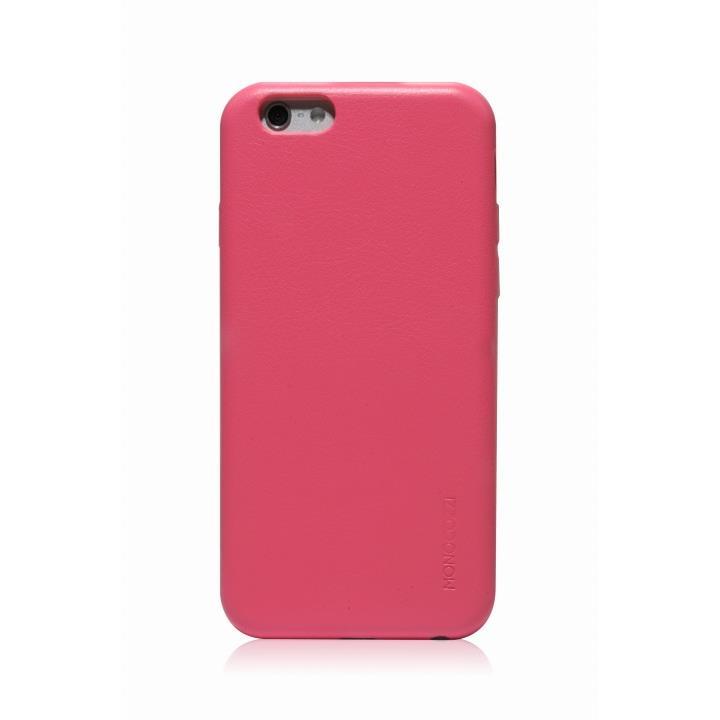 【iPhone6ケース】MONOCOZZI ソフトPUレザーシェルケース ベビーピンク iPhone 6 ケース_0