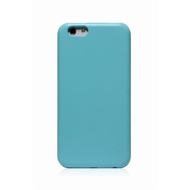 MONOCOZZI ソフトPUレザーシェルケース ベビーブルー iPhone 6 ケース