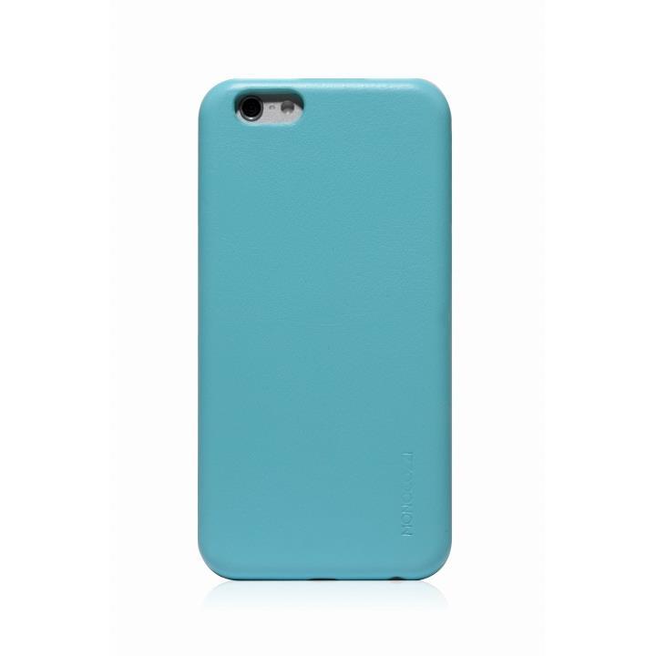【iPhone6ケース】MONOCOZZI ソフトPUレザーシェルケース ベビーブルー iPhone 6 ケース_0