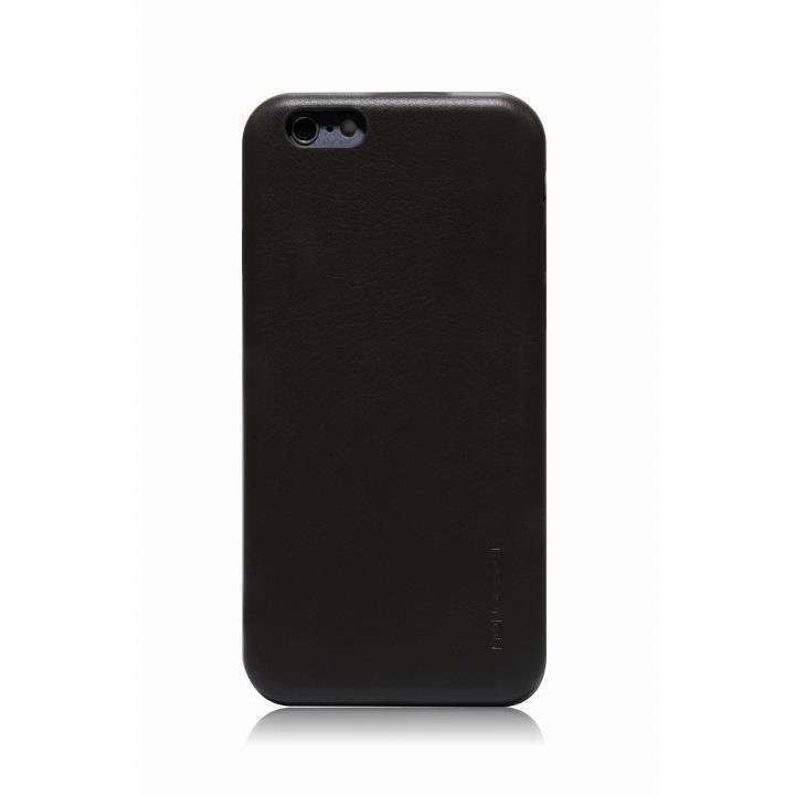 MONOCOZZI ソフトPUレザーシェルケース チャコール iPhone 6 Plusケース