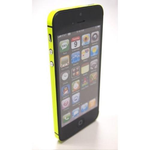 【iPhone SE/5s/5ケース】Side Skin LEMON(蛍光) iPhone5_0