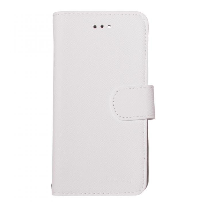 kuboq 手帳型ケース スタンダード ホワイト iPhone X