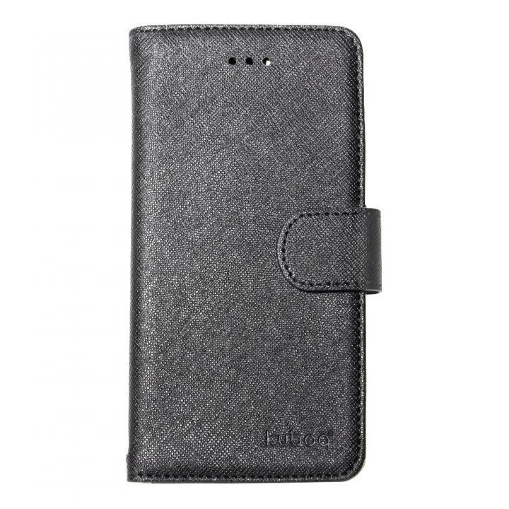 kuboq 手帳型ケース スタンダード ブラック iPhone X