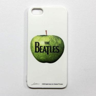 【iPhone SE/5s/5ケース】iPhone5ケ-ス ビートルズ(logo)アップル・マーク_0