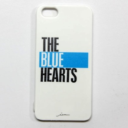 iPhone5ケ-ス THE BLUE HEARTS