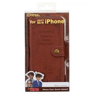 【iPhone XS/Xケース】名探偵コナン 洋書風手帳型ケース 工藤新一&服部平次 iPhone XS/X_4