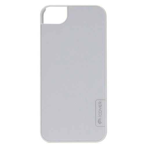 iPhone SE/5s/5 ケース icover iPhone5用ケース COMBI HAIR LINEシリ―ズ ホワイトホワイト_0