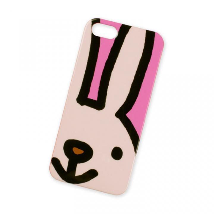 【iPhone SE/5s/5ケース】KOHEM iPhone5 Case ウサギ(かお)_0
