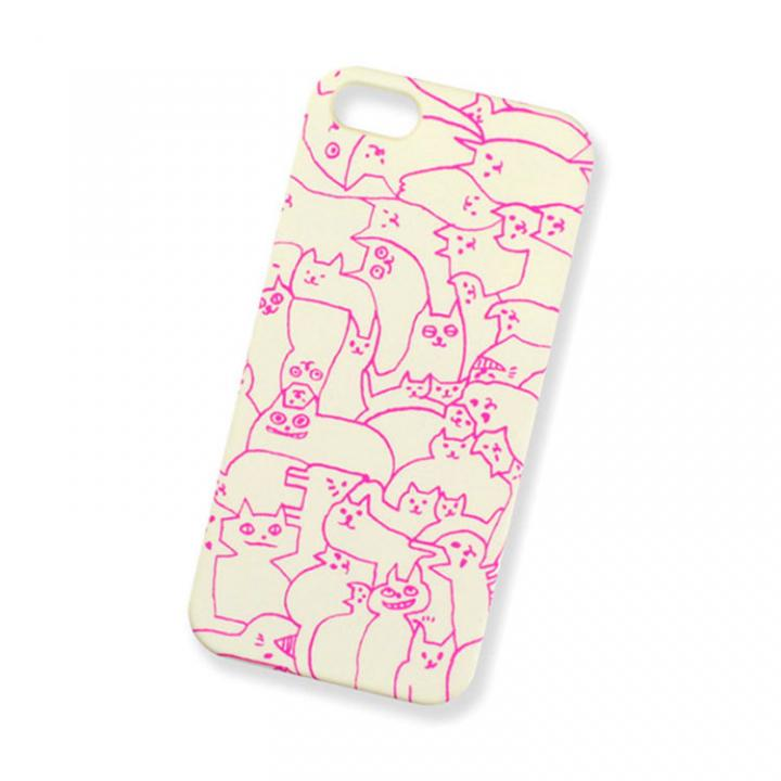 AIUEO iPhone5 Case NEKO PUZZLE WH
