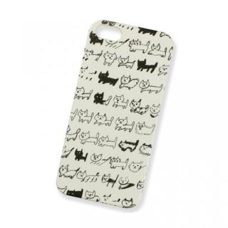 AIUEO iPhone5 Case NEKO BORDER BK