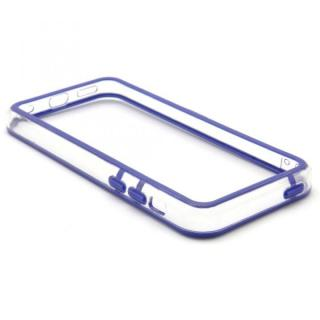 EdgeBand バンパー iPhone5c  ネイビー&クリアー