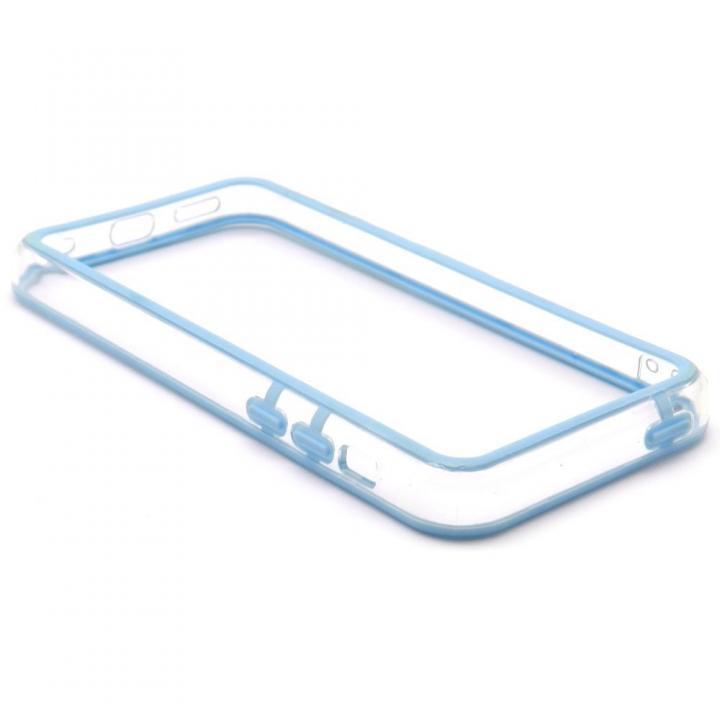 EdgeBand バンパー iPhone5c 【スカイ&クリアー】 BumperC-015_0