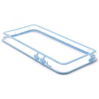 EdgeBand バンパー iPhone5c 【スカイ&クリアー】 BumperC-015