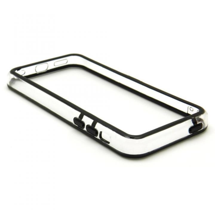 EdgeBand バンパー iPhone5c 【ブラック&クリアー】 BumperC-021_0