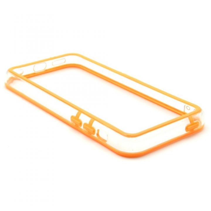 EdgeBand バンパー iPhone5c  オレンジ&クリアー  BumperC-019_0