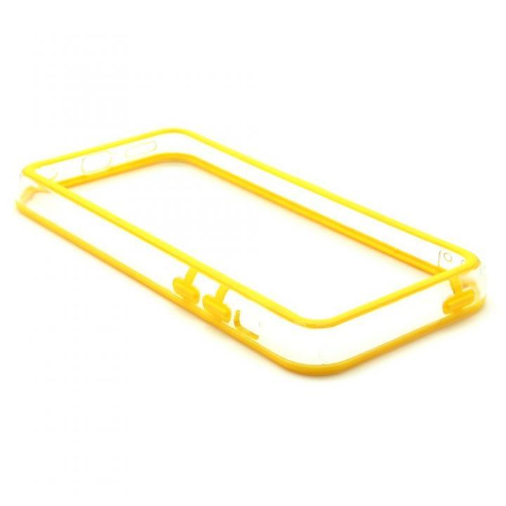 EdgeBand バンパー iPhone5c  イエロー&クリアー_0