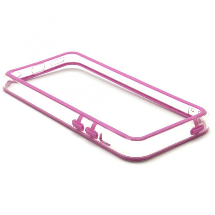 EdgeBand バンパー iPhone5c  パープル&クリアー  BumperC-016_0