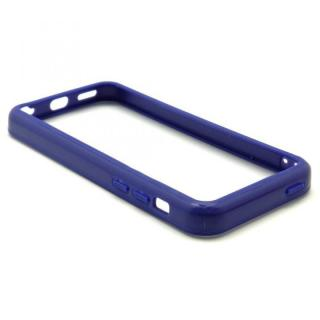 [8月特価]EdgeBand バンパー iPhone5c ネイビー BumperC-008