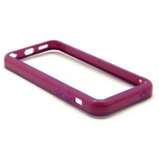 [4周年特価]EdgeBand バンパー iPhone5c  パープル BumperC-010