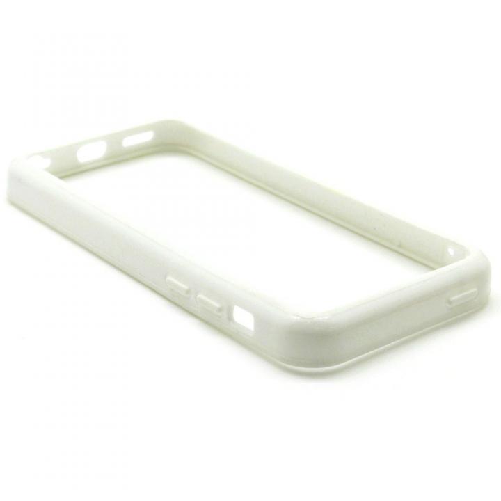 [4周年特価]EdgeBand バンパー iPhone5c 【ホワイト】 BumperC-004