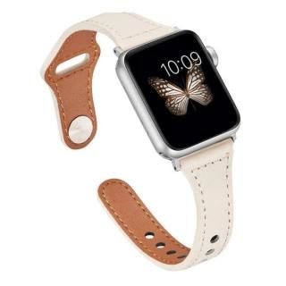 ピンバックル レザー Lite スリム Apple Watch 38/40mm WH-SV